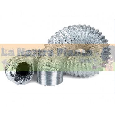 Tubo flexible aluminio 10 m